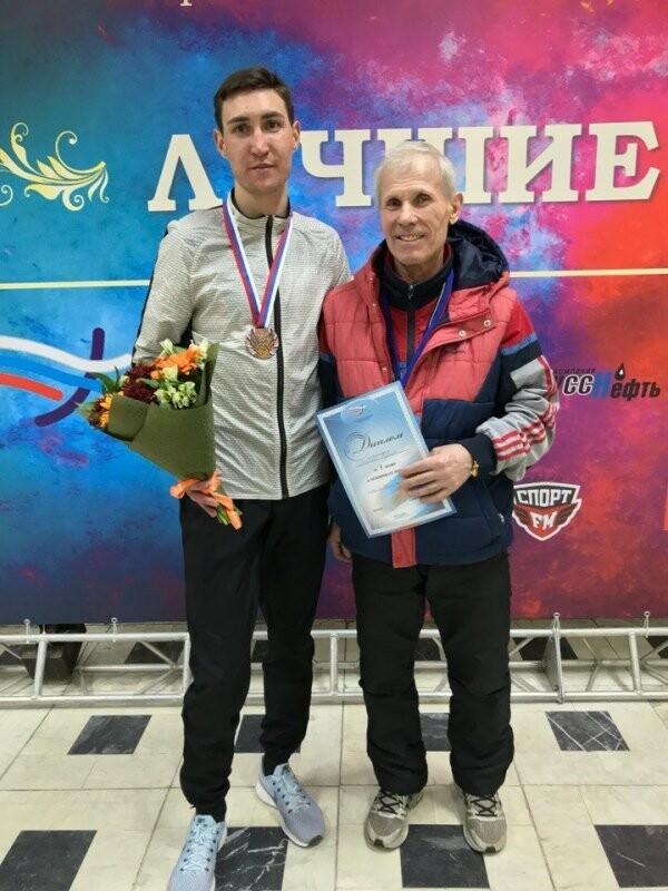 Артем Леоненко и тренер Михаил Пастушенко