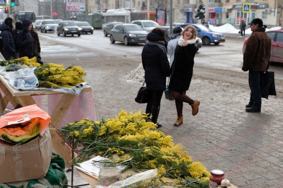 Настроение тамбовчанок перед праздниками повышается. Впереди - длинные выходные и теплая весна!