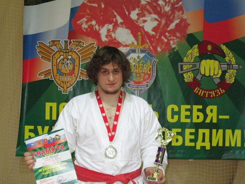 Вячеслав Попов, серебряный призер соревнований