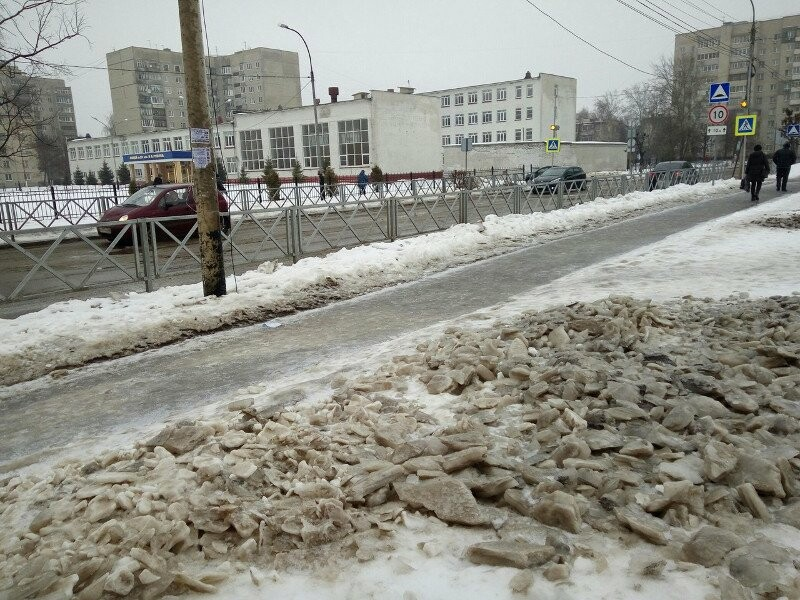Ледяной дождь подмочил тамбовским коммунальщикам подготовку к выборам, фото-3