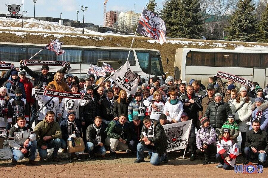 """ХК """"Тамбов"""" поможет болельщикам с выездом на матчи в Саранск, фото-1"""