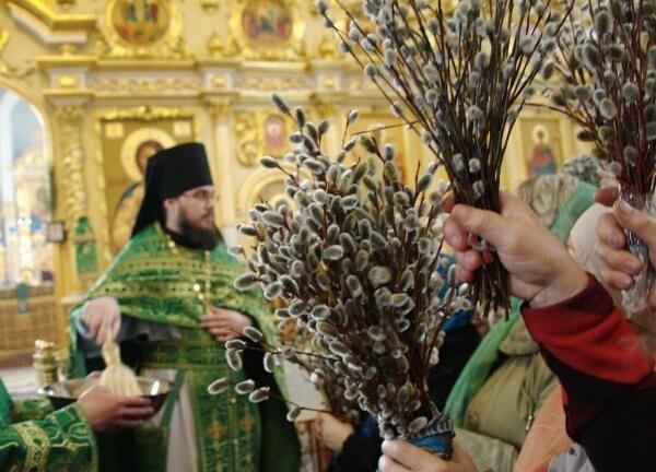 Православные тамбовчане отметили Вербное воскресенье , фото-1
