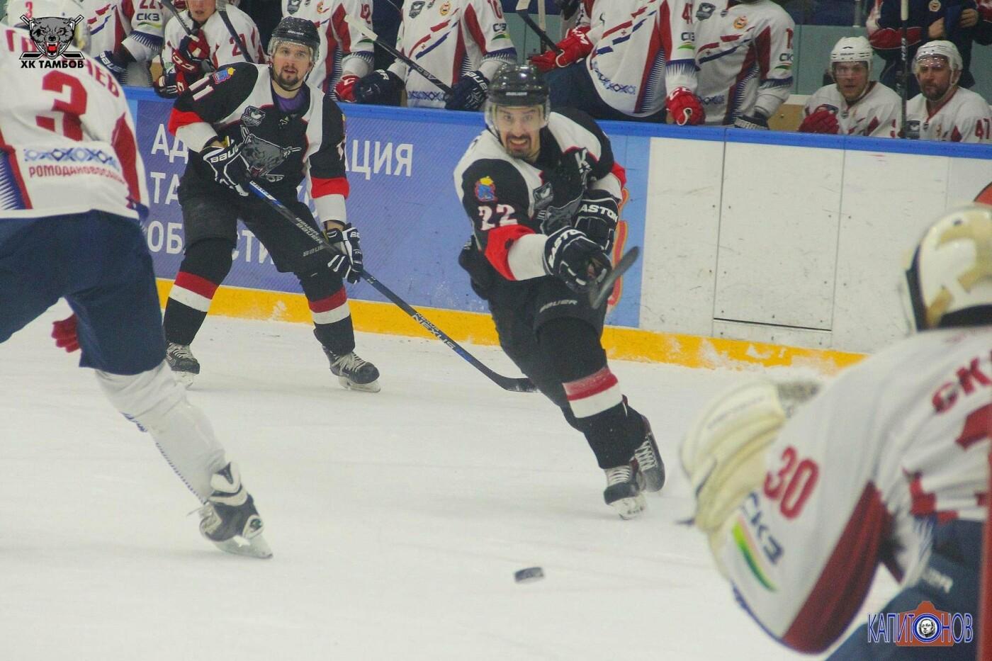 ХК «Тамбов» третий раз в полуфинале плей-офф сравнивает счет в серии , фото-2