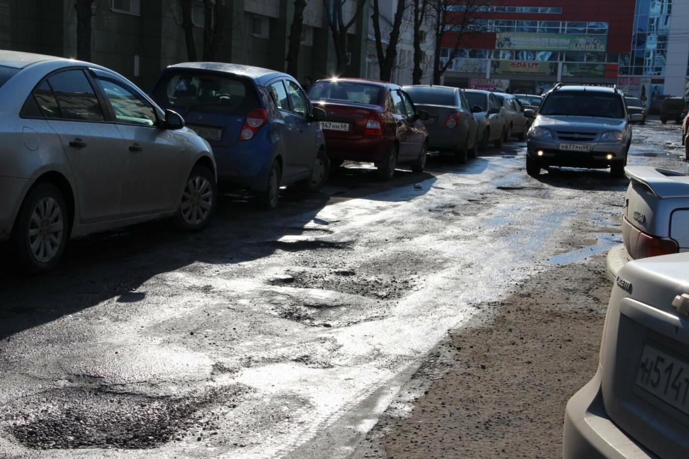 Четверть тамбовских дорог требуют срочного ремонта после зимы, фото-1