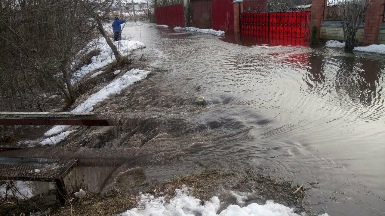 Частный сектор в Моршанске уходит под воду, фото-2