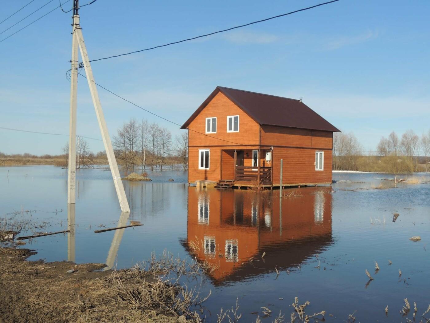 Тамбовские села отрезаны от внешнего мира паводком, фото-5