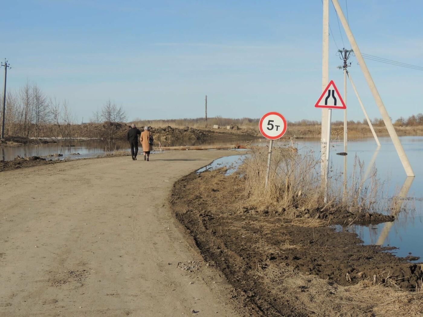 Тамбовские села отрезаны от внешнего мира паводком, фото-6