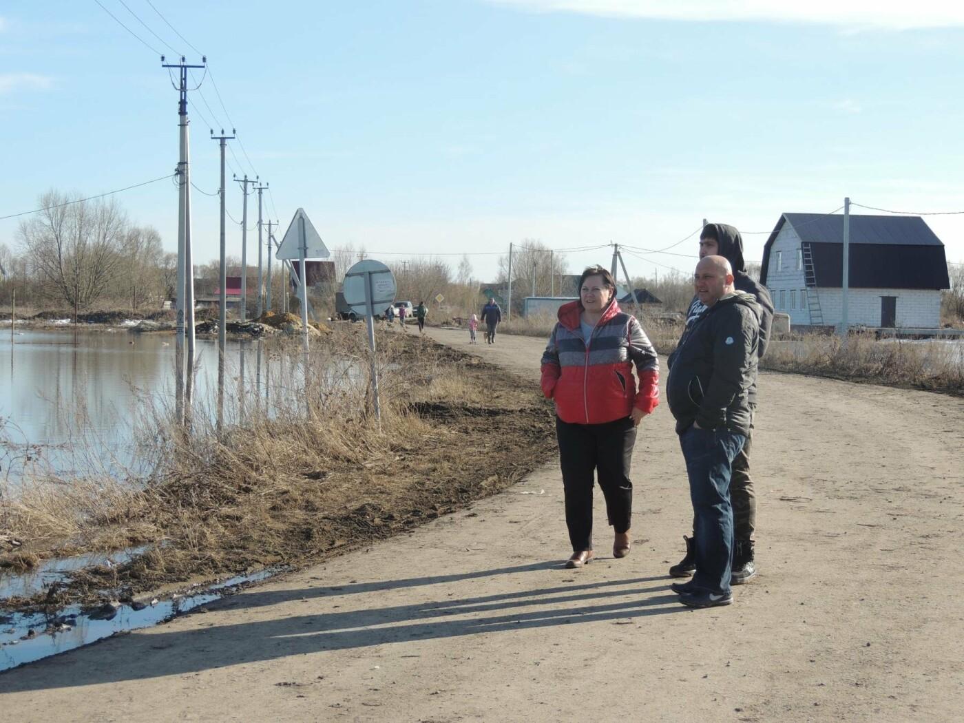 Тамбовские села отрезаны от внешнего мира паводком, фото-3