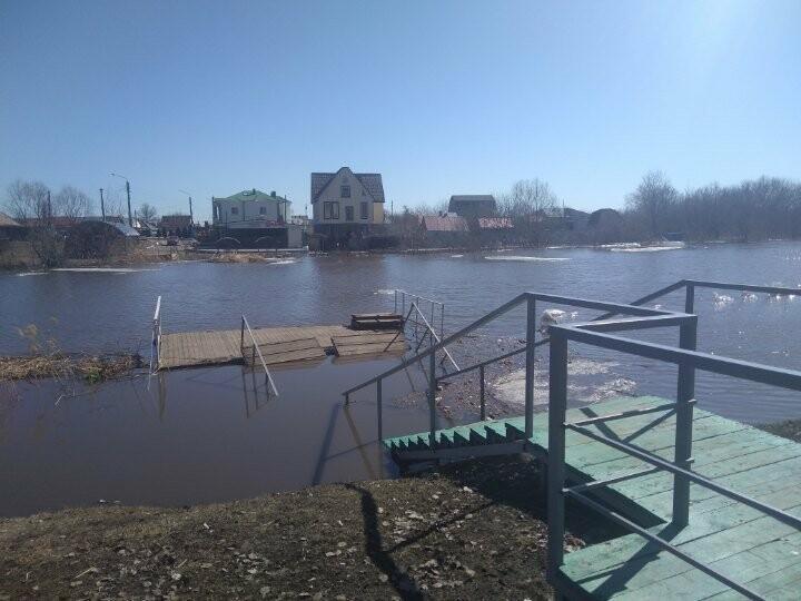 В Тамбове затопило набережную, фото-2