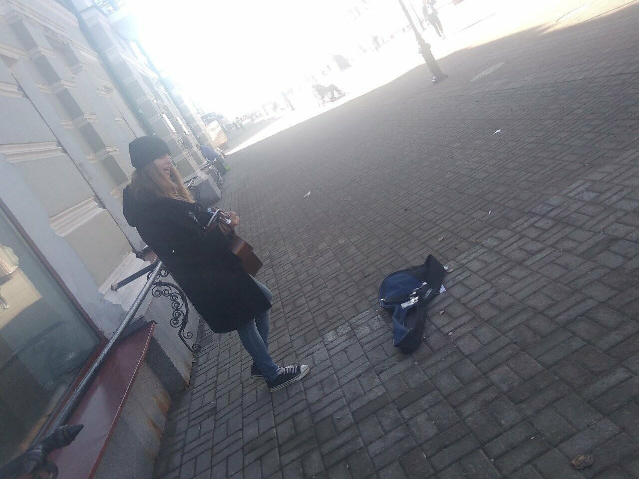 На тамбовский Арбат вернулись уличные музыканты, фото-2