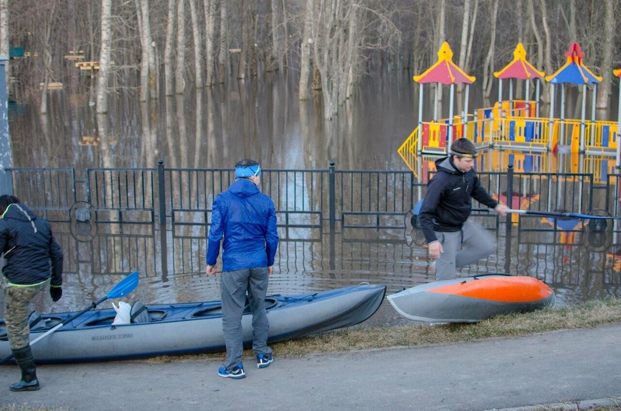 Байдарочники Тамбова «поймали волну» в парке Дружбы, фото-6, Фото: Алексей Чеботарев
