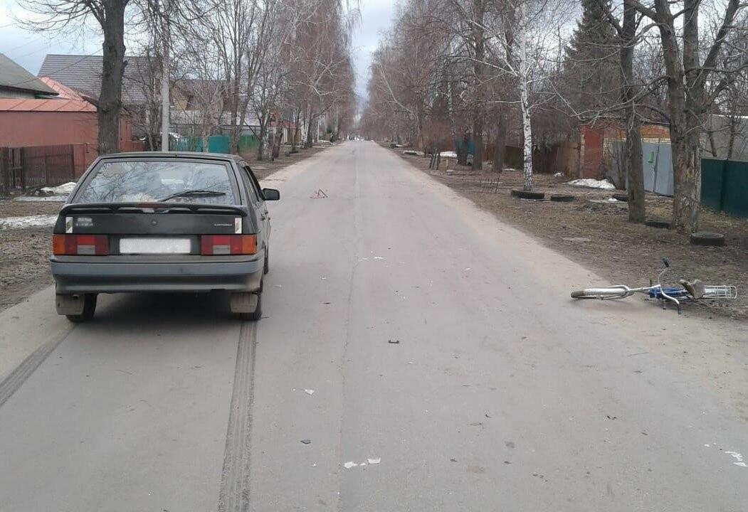 На Тамбовщине под колеса машины угодил малолетний велосипедист, фото-1, Фото: ГИБДД по Тамбовской области
