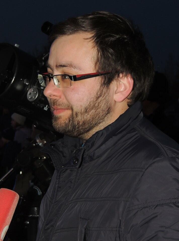 Астроном-любитель из Моршанска Александр Олейников