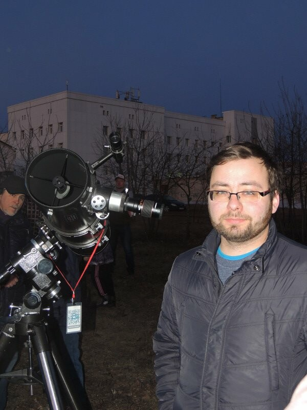 Александр Олейников, астроном-любитель