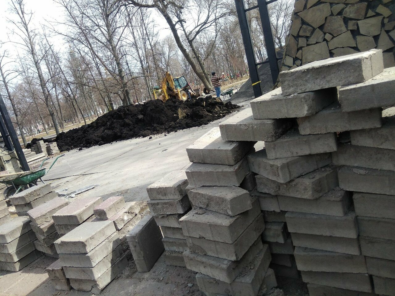 Тамбовчанам закрыли вход в Парк культуры, фото-1