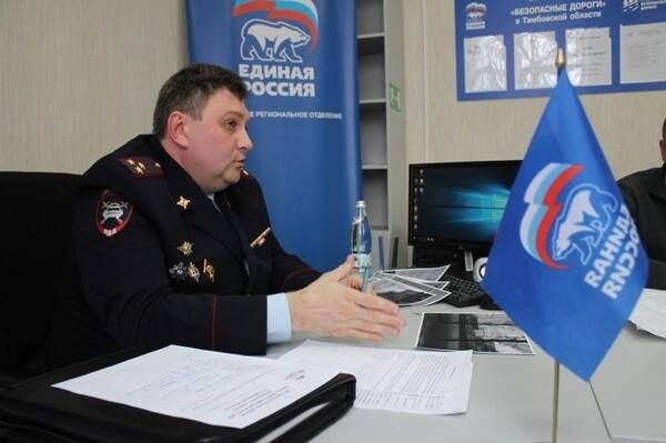 Олег Демин, начальник управления ГИБДД России по Тамбовской области