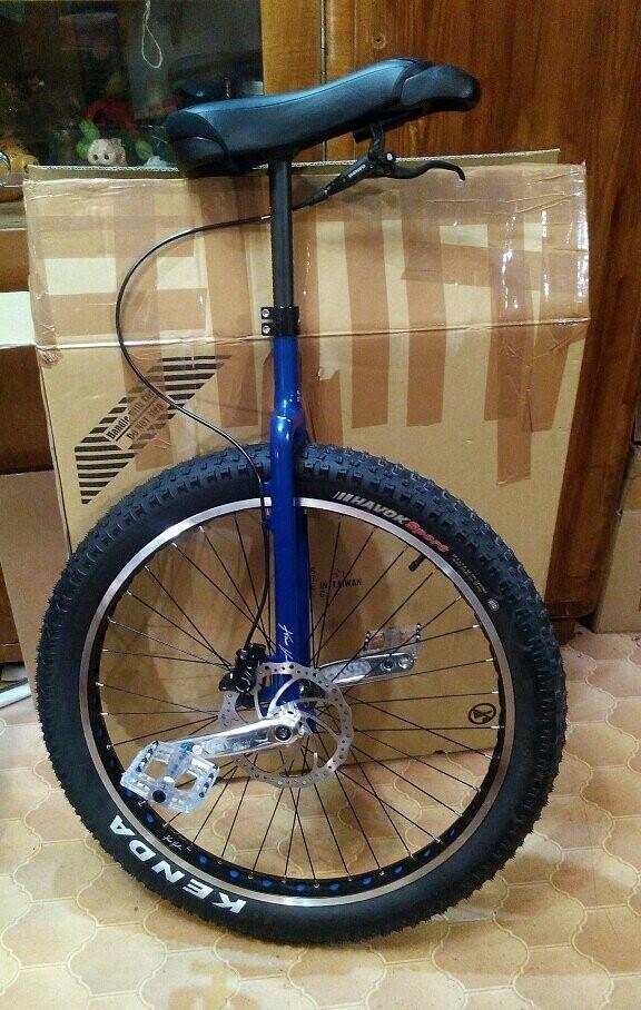 Тамбовчанин проедет по Турции на одноколесном велосипеде, фото-1