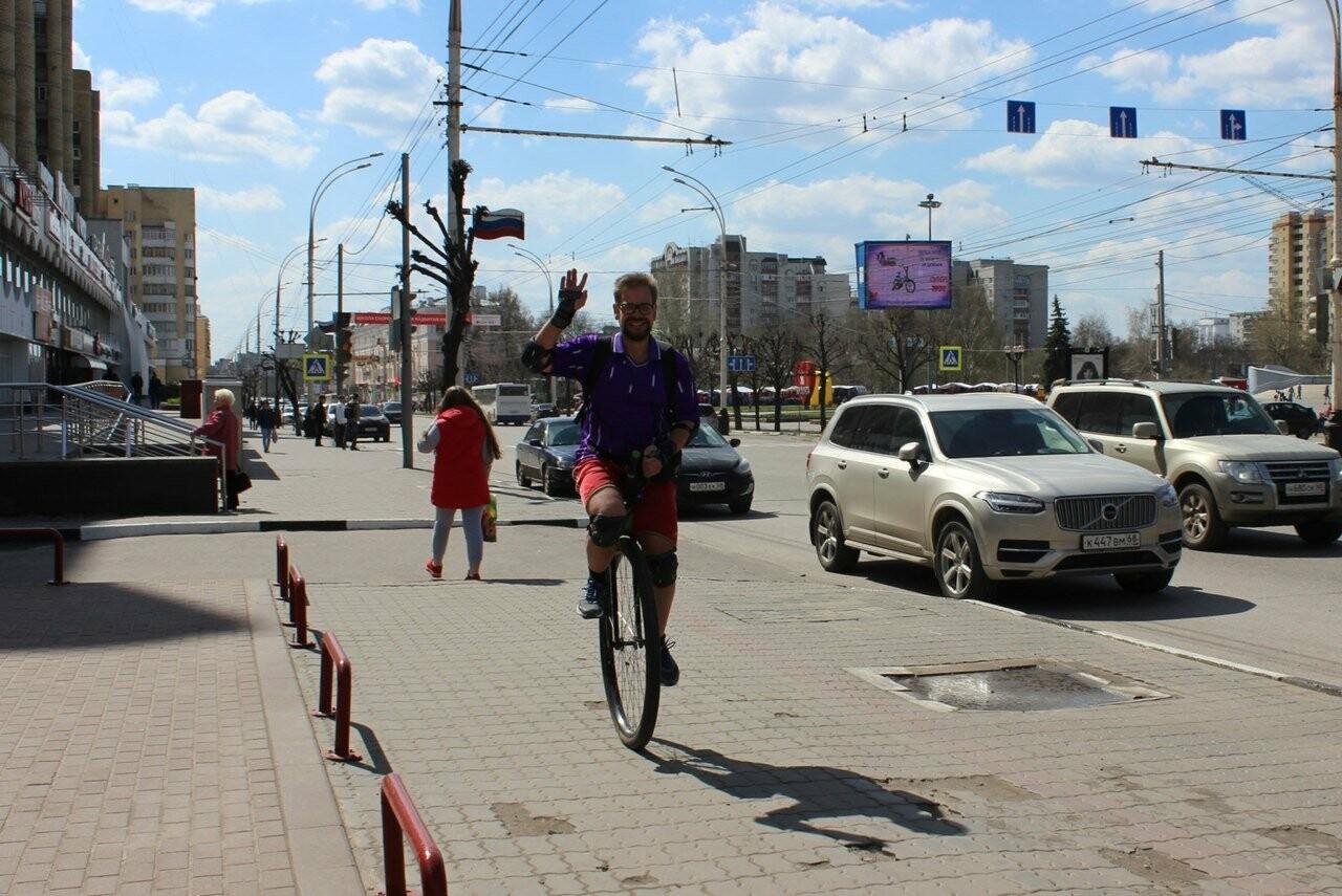 Тамбовские велосипедисты открыли сезон у подножия крутых оврагов, фото-4