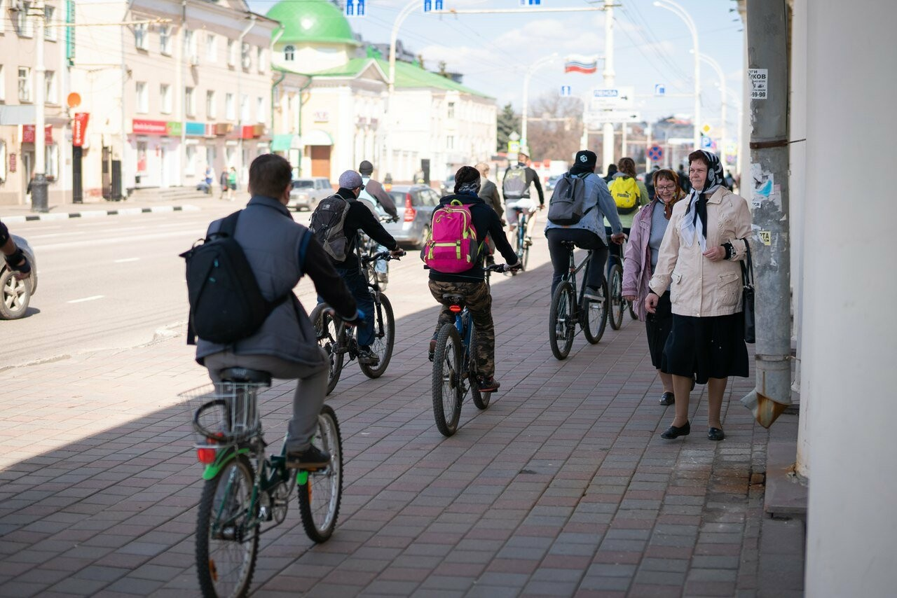 Тамбовские велосипедисты открыли сезон у подножия крутых оврагов, фото-2