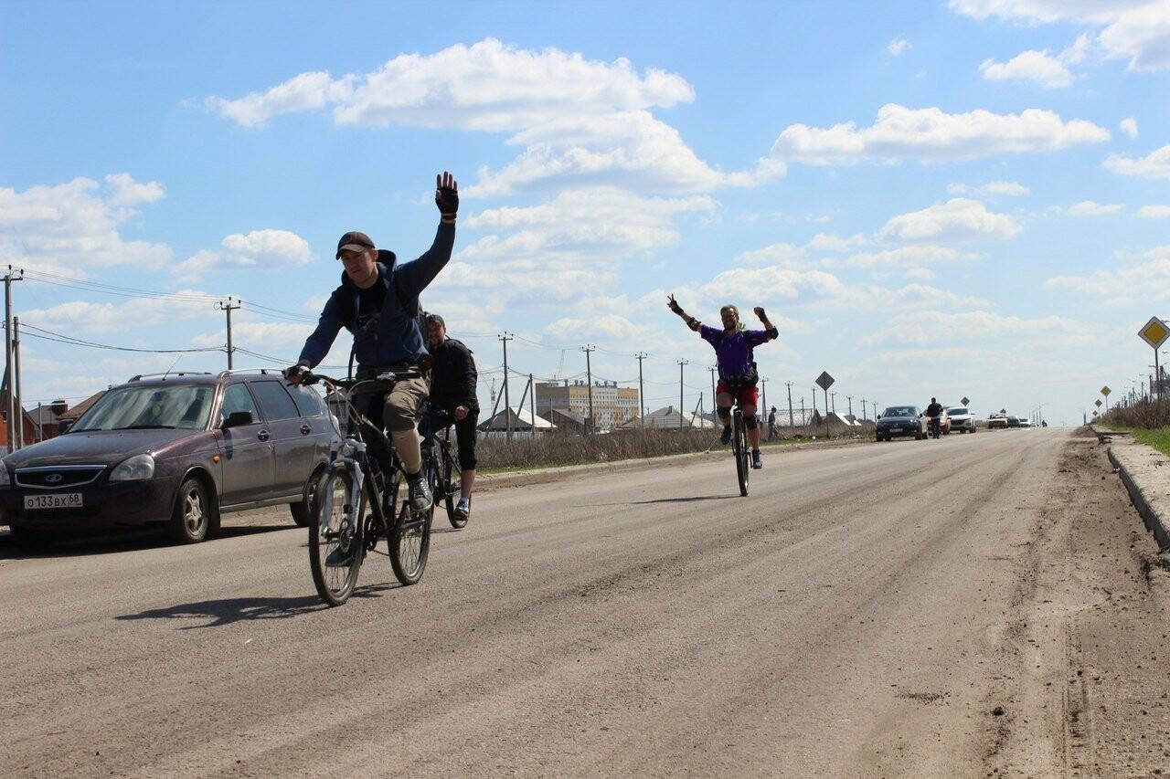 Тамбовские велосипедисты открыли сезон у подножия крутых оврагов, фото-3