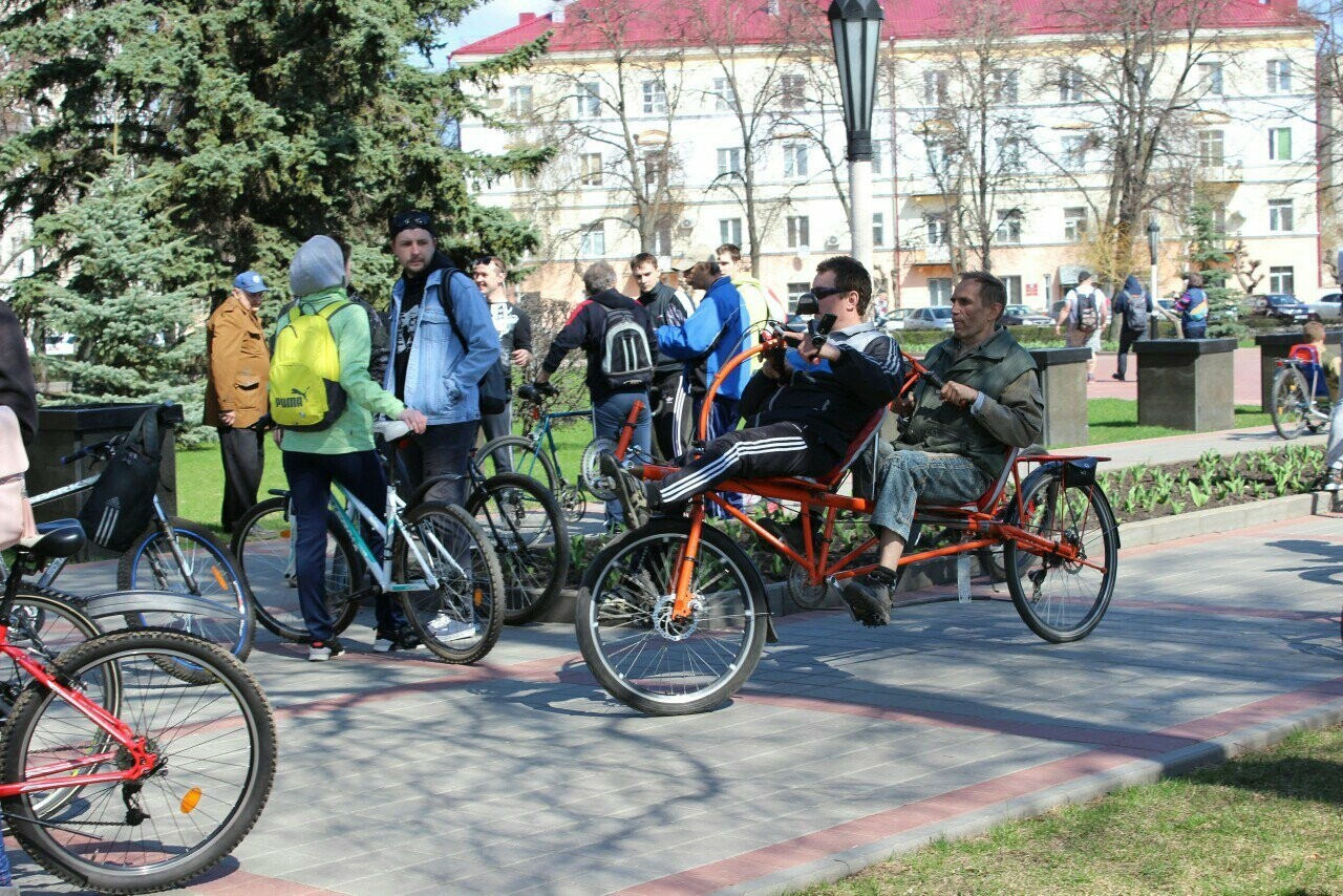 Тамбовские велосипедисты открыли сезон у подножия крутых оврагов, фото-1