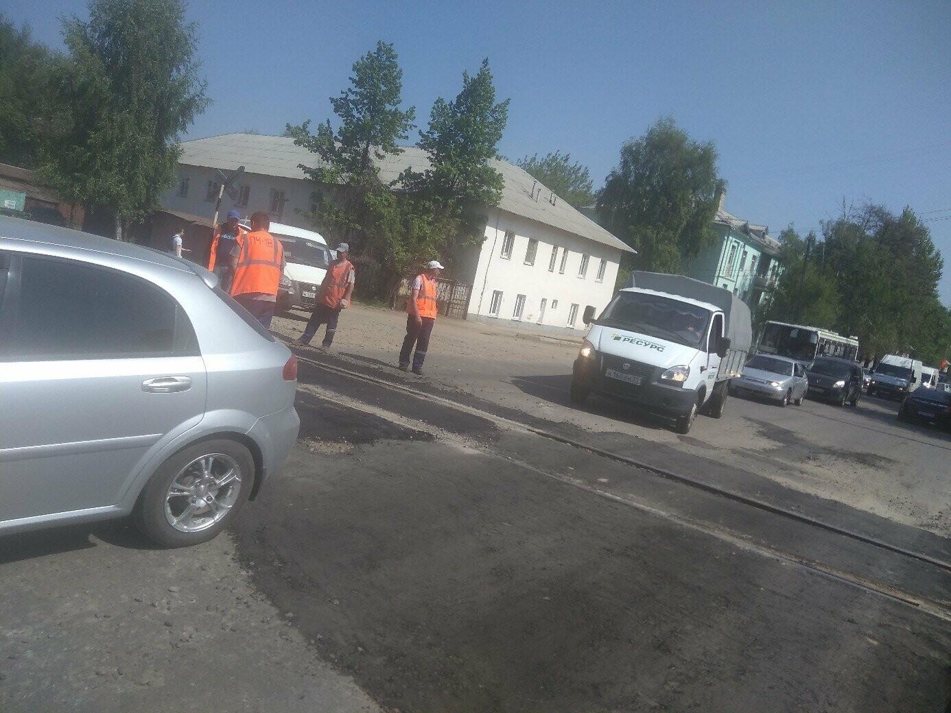 В Тамбове начали ремонт дорог у ж/д переездов, фото-2