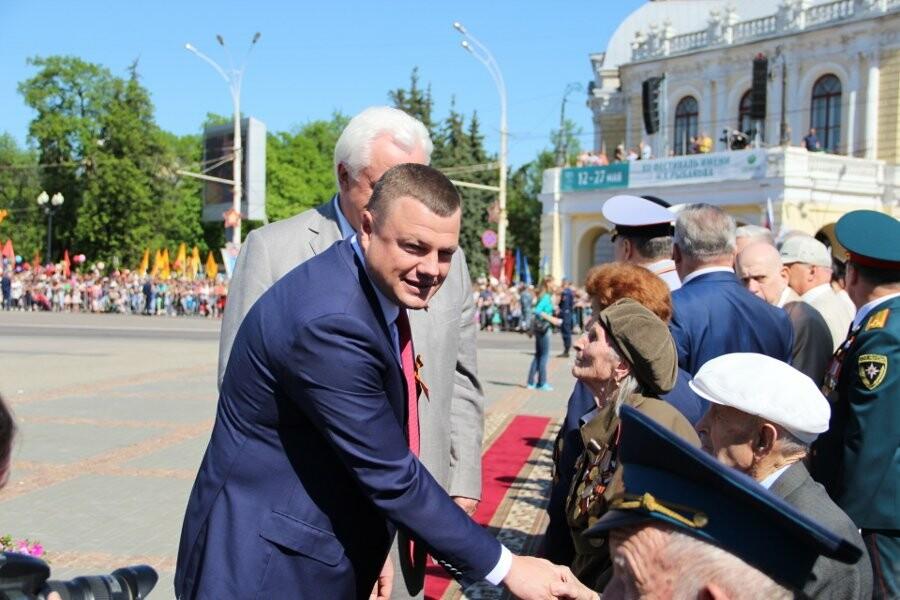 Первые лица Тамбовщины поздравили жителей области с Днем Победы, фото-1