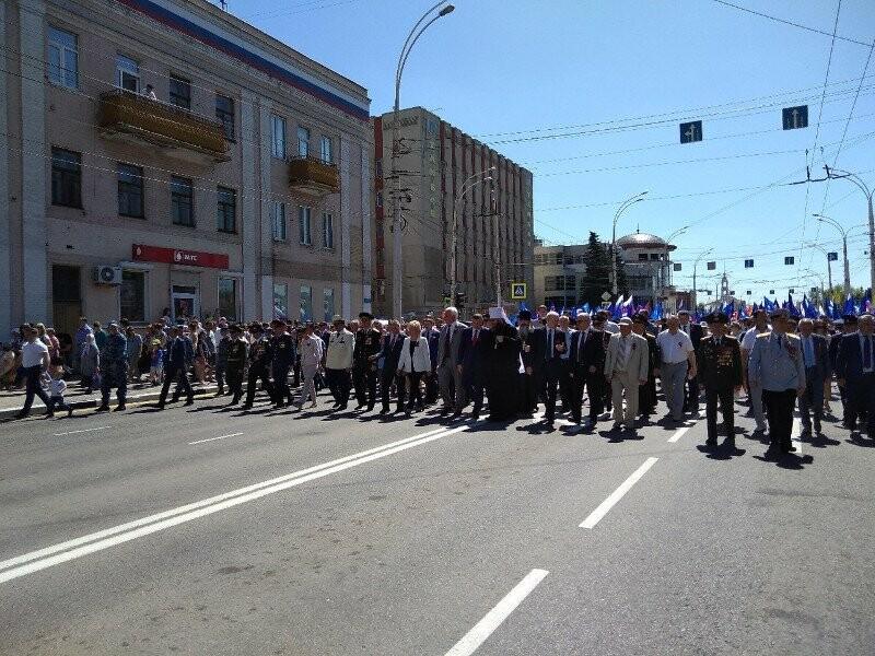 Первые лица Тамбовщины поздравили жителей области с Днем Победы, фото-4