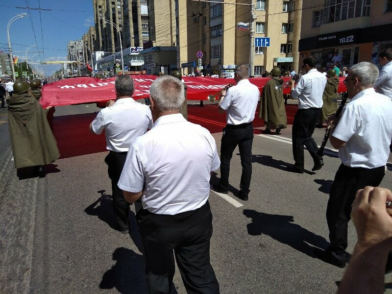Первые лица Тамбовщины поздравили жителей области с Днем Победы, фото-2