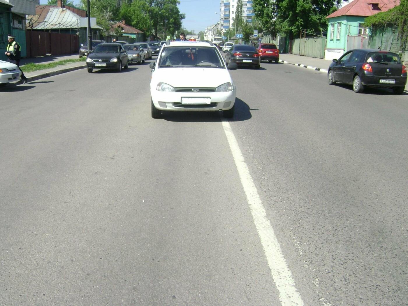 В Тамбове пешеход пытался проскочить дорогу перед автомобилем: мужчина оказался в больнице, фото-1