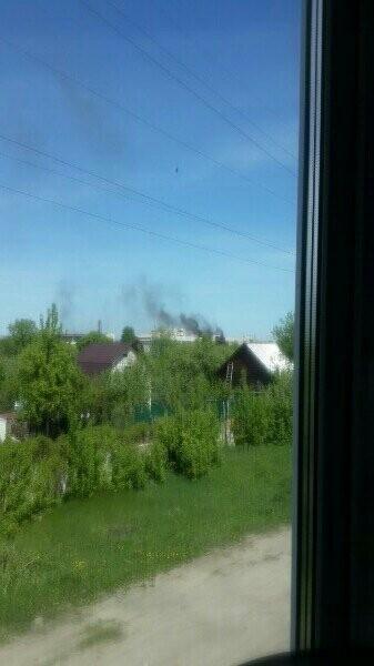 Пожар на «Пигменте» в Тамбове, фото-1