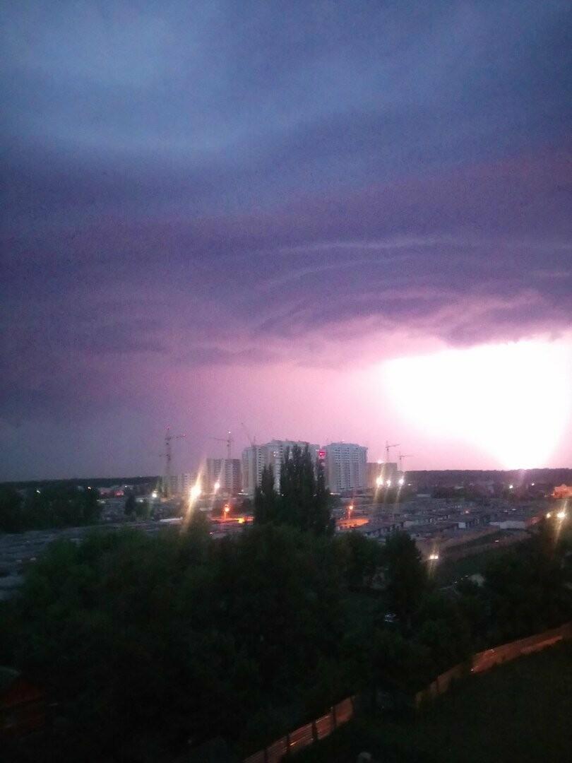 Погода в Тамбове напугала жителей севера города, фото-1