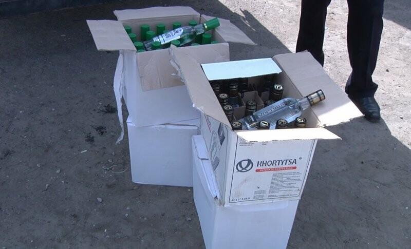 7,5 тысяч бутылок паленой водки нашли в Тамбове в фуре , фото-1