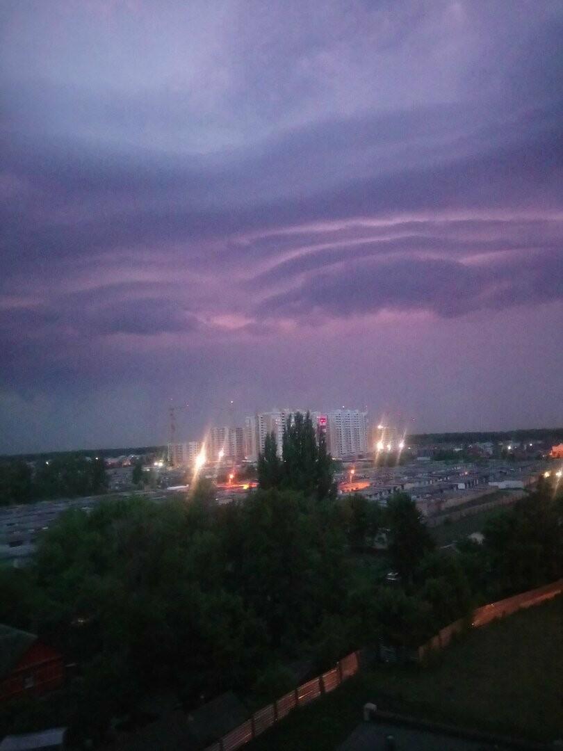 Погода в Тамбове напугала жителей севера города, фото-3