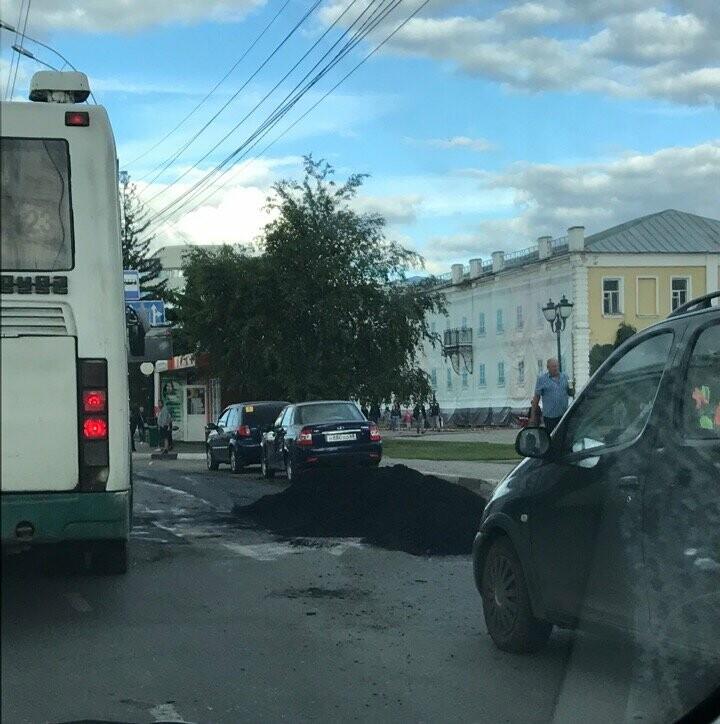 Ко Дню города экстренно асфальтируют центр Тамбова, фото-2