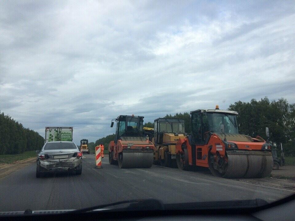 В Липецк тамбовчане будут ездить по идеальной дороге, фото-1