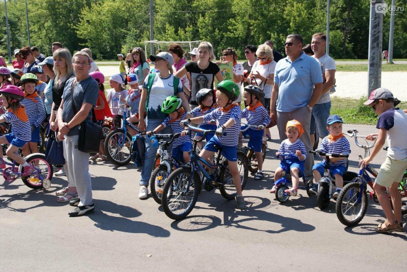 Тамбовский фестиваль «Солнце на спицах» объединил любителей велоспорта, фото-4