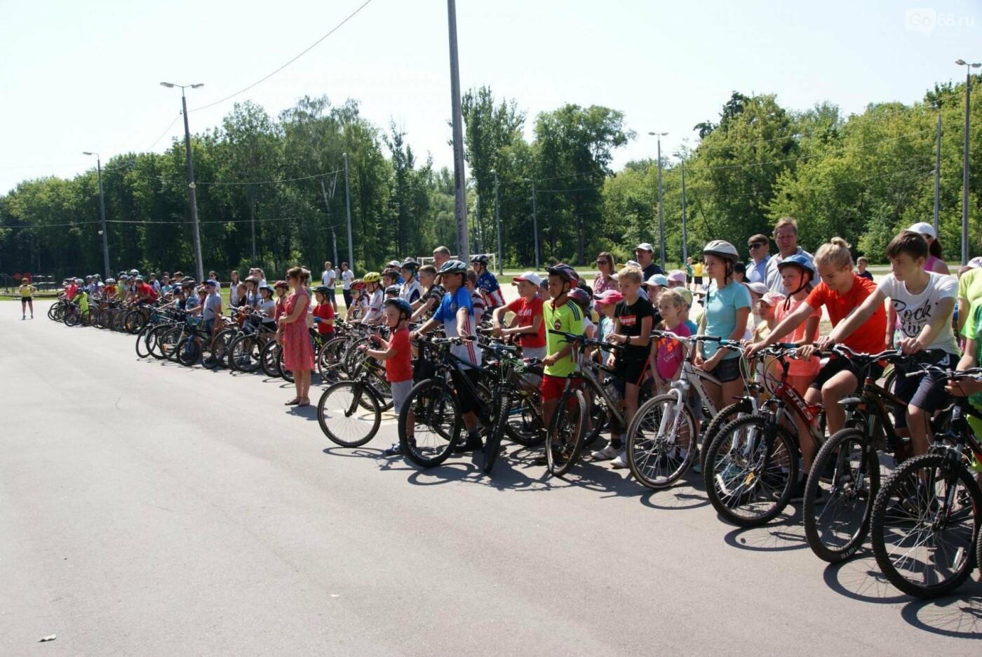 Тамбовский фестиваль «Солнце на спицах» объединил любителей велоспорта, фото-3