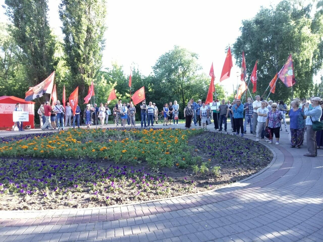 Тамбовчанам не дали протестовать в центре города против повышения пенсионного возраста, фото-1