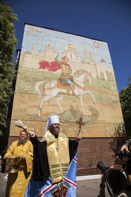 В Тамбове представили огромного Георгия Победоносца, фото-1