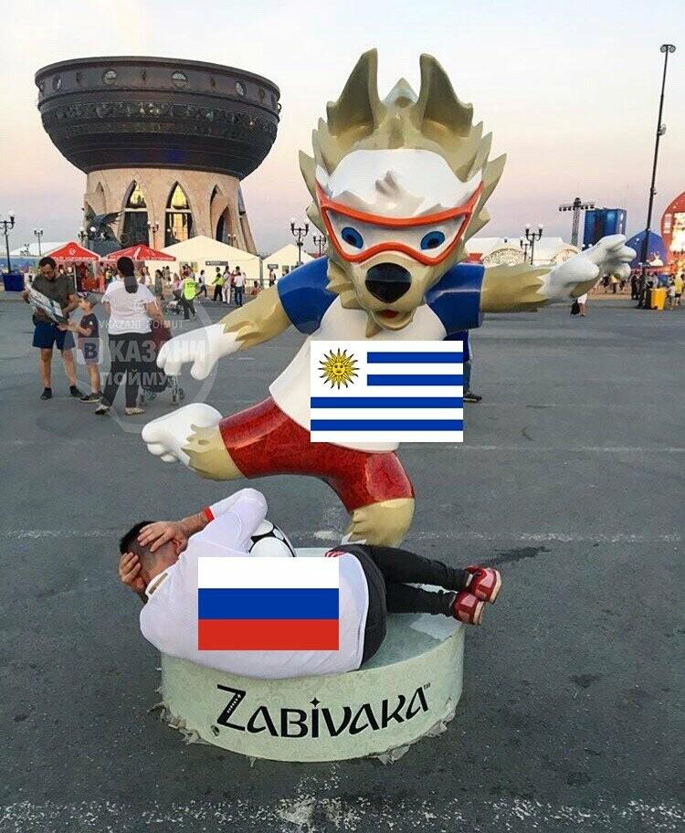 «Силы берегут»: россияне проиграли уругвайцам, фото-8