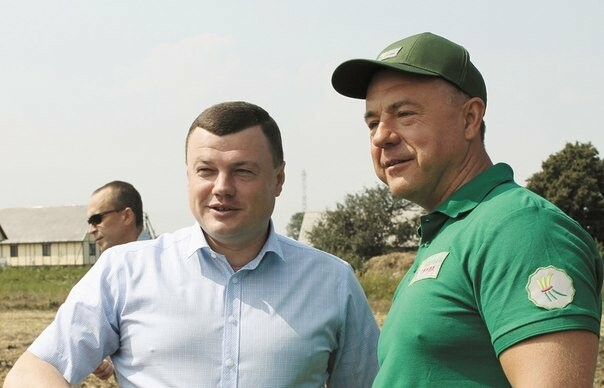 Бизнесмен Михаил Корнев и губернатор Тамбовской области Александр Никитин
