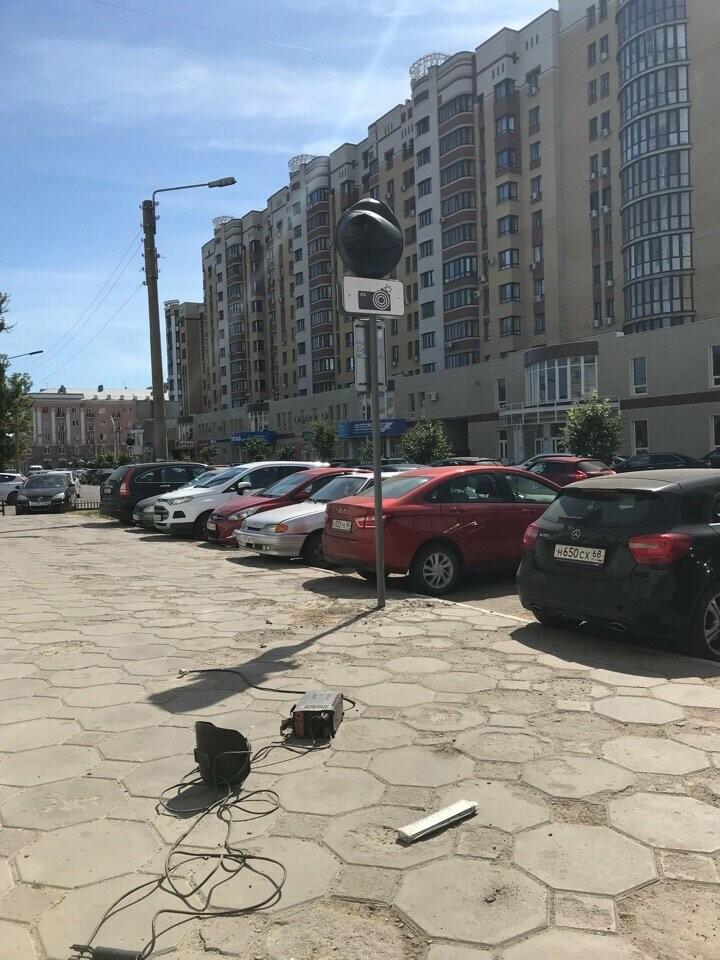 За парковку в центре Тамбова начнут штрафовать, фото-1