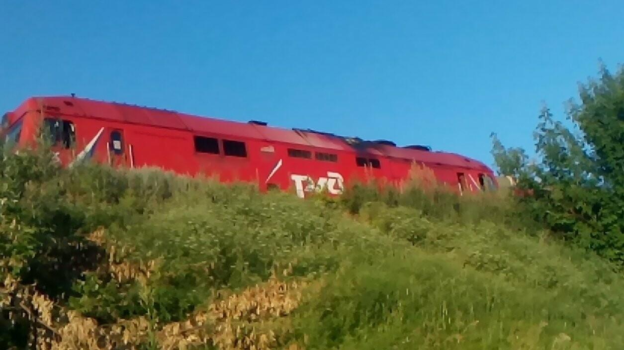 Под Тамбовом загорелся пассажирский поезд, фото-2