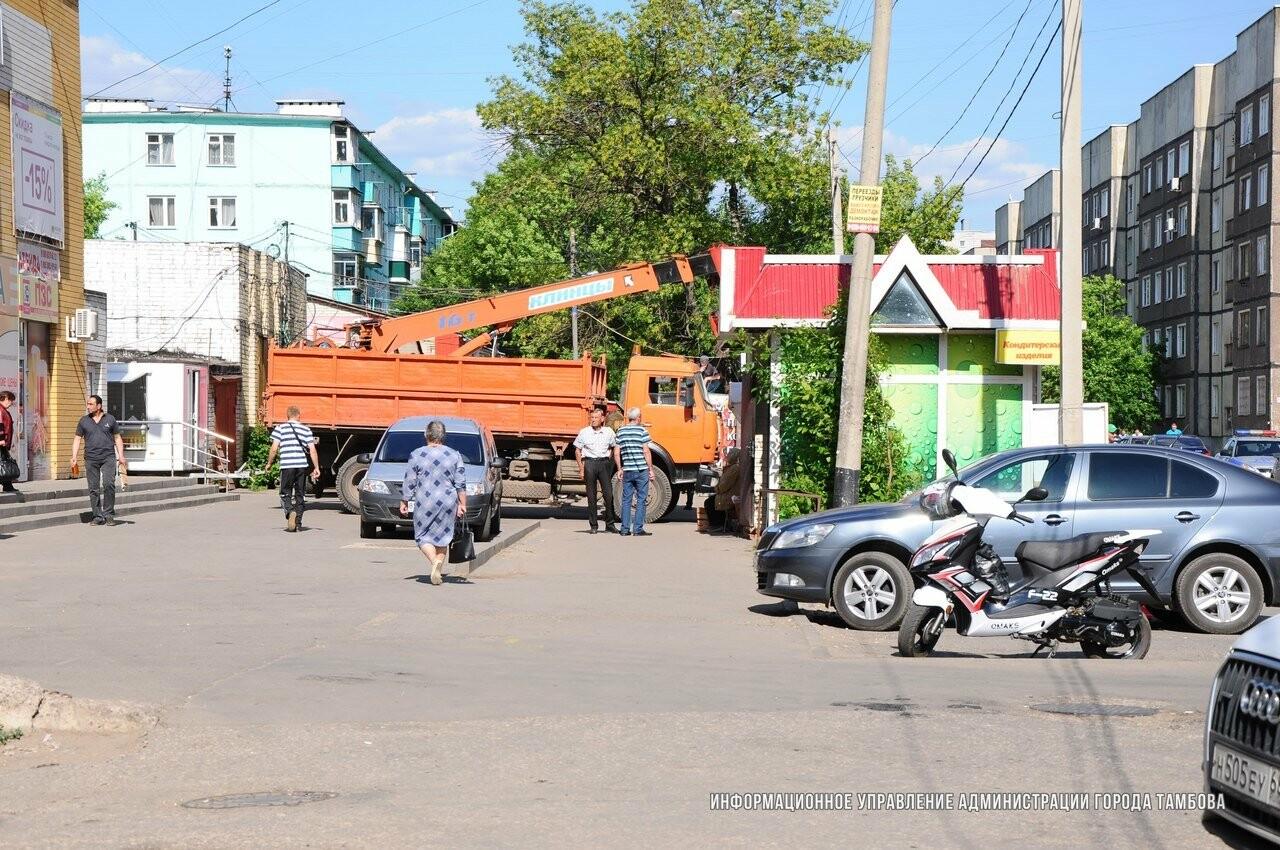 На Куйбышева в Тамбове «вернется» рынок, фото-1