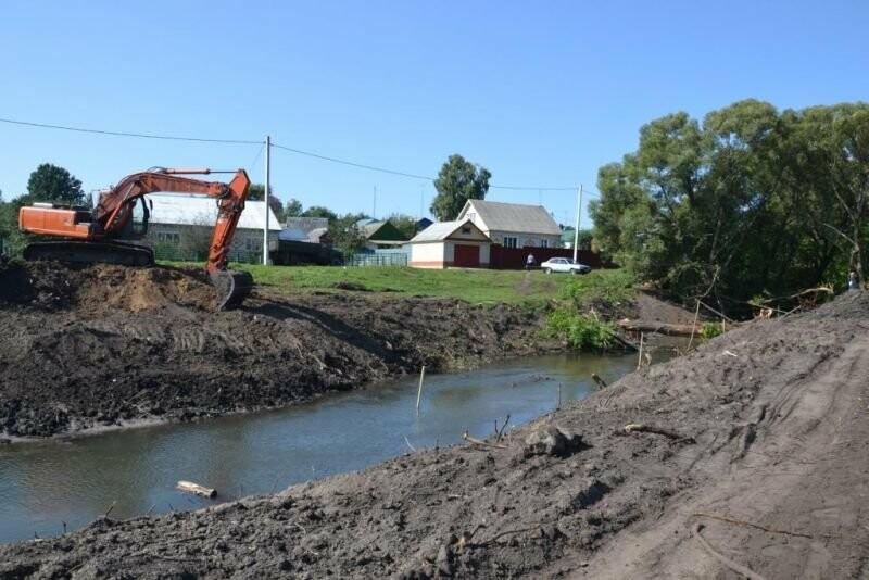 В Тамбовской области на постройку плотины в метровой реке потратят 24 миллиона, фото-1