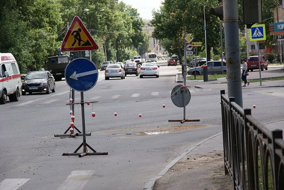 В Тамбове на улицу К. Маркса хлынул кипяток, фото-1
