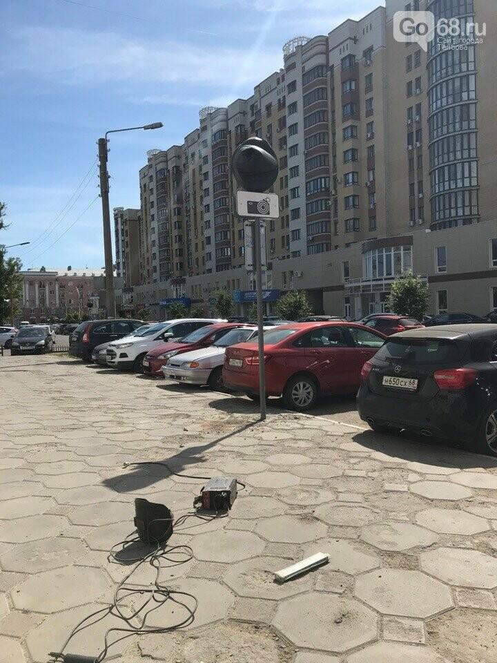 Тамбовчане возмущены запретом парковаться в центре, фото-1