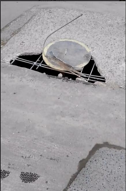 Тамбовчанин выложил в Сеть открытый люк – коммунальщики начали ремонт, фото-1
