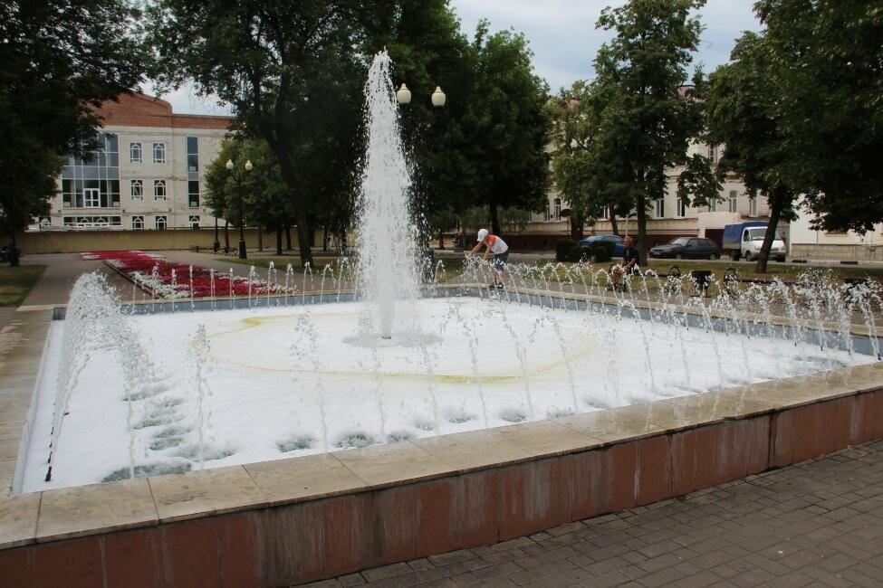 В Тамбове пенится фонтан, фото-6